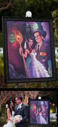 Final Disneyland Wedding Portrait by Devinator200
