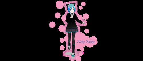 New Neko Miku (lol) by VMD098