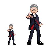 12th Doctor Sprite by Kisaoda