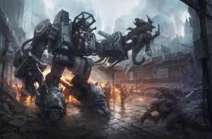 Blizzardfest - SCV unit by KypcaHT