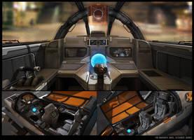 Cockpit sketch by KypcaHT