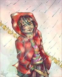 Joy is in the rain by AlbeVallon