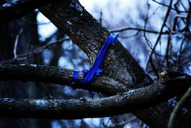 Blue Tree by Yoghurt-Pot