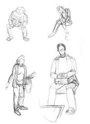 scribbles by Jormungundr