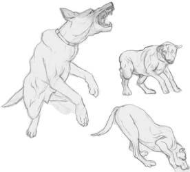 Dogs 2 by Jormungundr