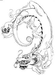 Dragon design by Jormungundr