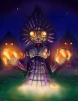LoZ MM Flatwood's aliens by NitendoFan92