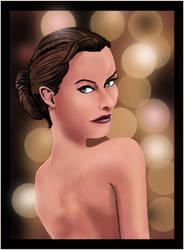 Olivia Wilde by wjsfineart
