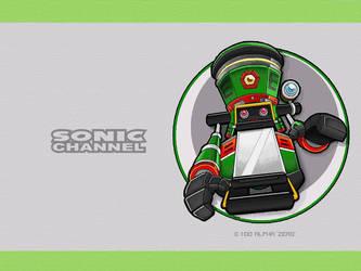 Sonic Channel ZERO Wallpaper by E-122-Psi