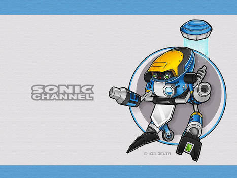 Sonic Channel Delta Wallpaper by E-122-Psi
