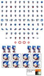 DrMBM Sonic Sprite Sheet by E-122-Psi