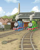 Tank Engines Coloured by E-122-Psi