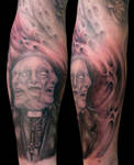 Unholy Trinity by Anderstattoo