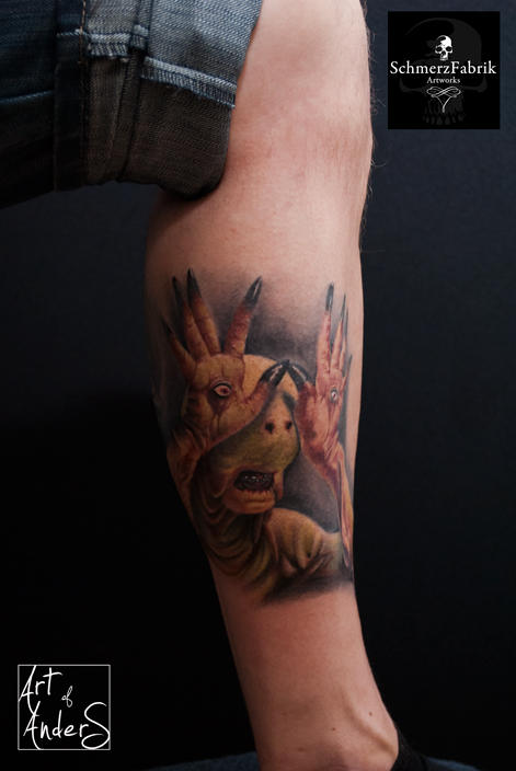 Pans Labyrinth by Anderstattoo