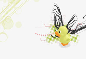 Rubber Ducky Wallpaper by shesta713