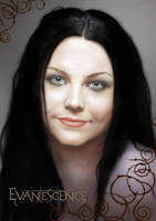 Amy Lee Evanescence portrait by redfill
