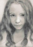 Jodelle Micah Ferland portrait by redfill