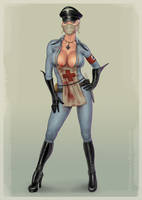 Butcheress from BloodRayne by redfill