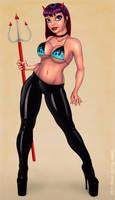 Devil Girl by redfill