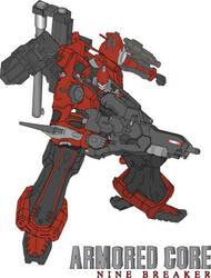 Armored Core: Nine Breaker by HexusDemon