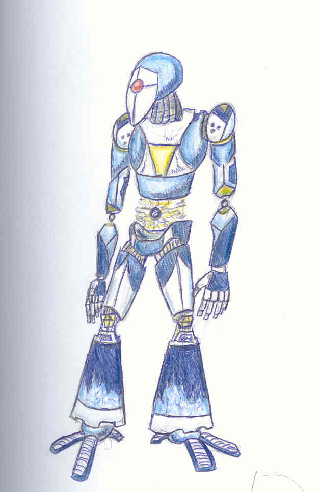 ice robot by soulphat on deviantart