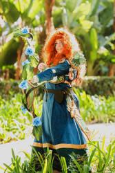 Princess Merida, Representative of the Wildhammer by MalisVitterfolk