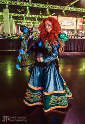 Dwarven Princess Merida, Wildhammer Hunter by MalisVitterfolk