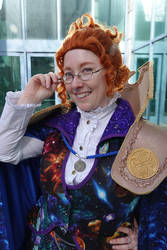 Ms. Frizzle, Timelord: SVCC 2018 by MalisVitterfolk