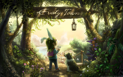 Welcome to Evaty Town by Evaty