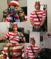 Steampunk Waldo by xjager513