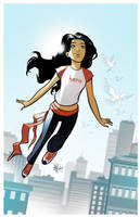 Asha Anderson: Big Time Hero by dustin-archibald