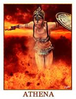ATHENA - GREEK GODS PROJECT by ISIKOL
