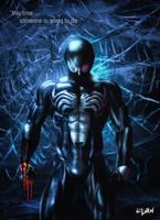 SPIDERMAN - BACK IN BLACK by ISIKOL