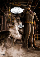 BATMAN'S BAD DAY by ISIKOL