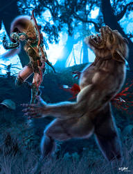 VAMPIRES VS LYCANS - Underworld by ISIKOL
