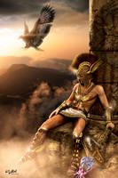 HERMES - GREEK GODS PROJECT by ISIKOL