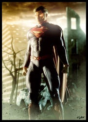 NEW 52 SUPERMAN by ISIKOL