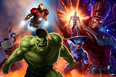 AVENGERS ASSEMBLE by ISIKOL