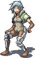 Female Battler by T-Free