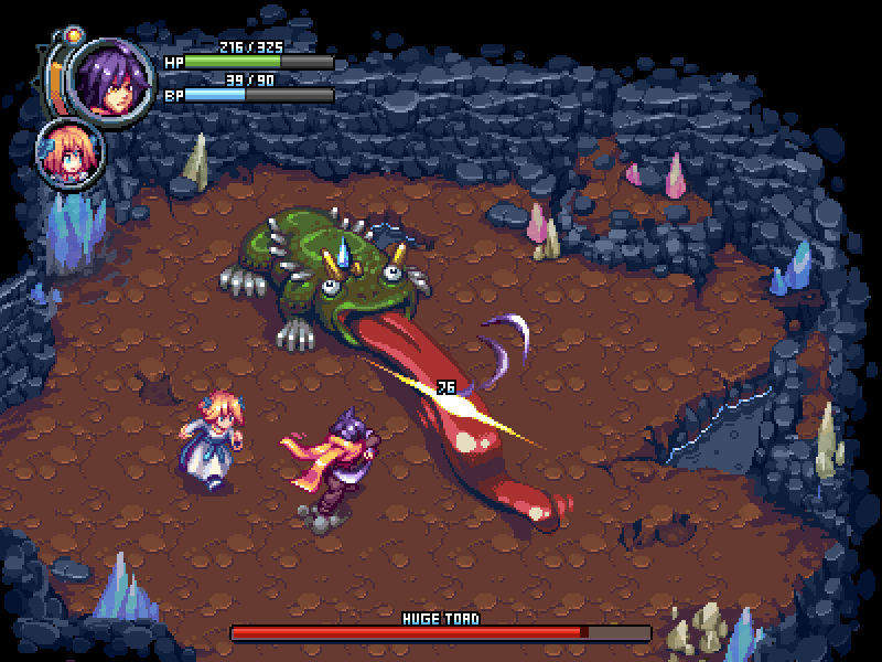 Reize and Lily Battle Mockup by T-Free