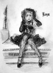 Kaya : Mad Tea Party by silvermyth