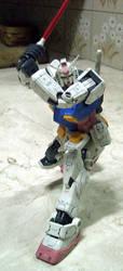 MG RX-78 Gundam 1YW-06 by CKaiCydek