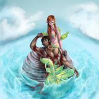 Mermaid, or Siren? by LalaKachu
