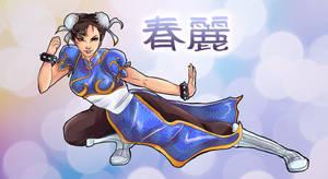 Chun Li by LalaKachu