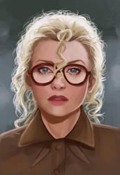 Michelle Pfeiffer as Selina Kyle by LalaKachu