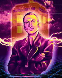 Doctor Who - Christopher Eccleston by LalaKachu