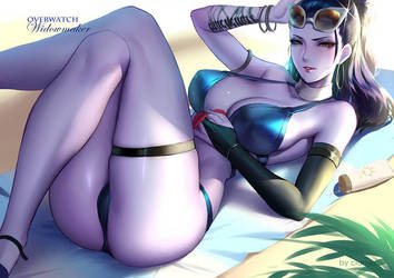 Swimsuit Widowmaker by CianYo