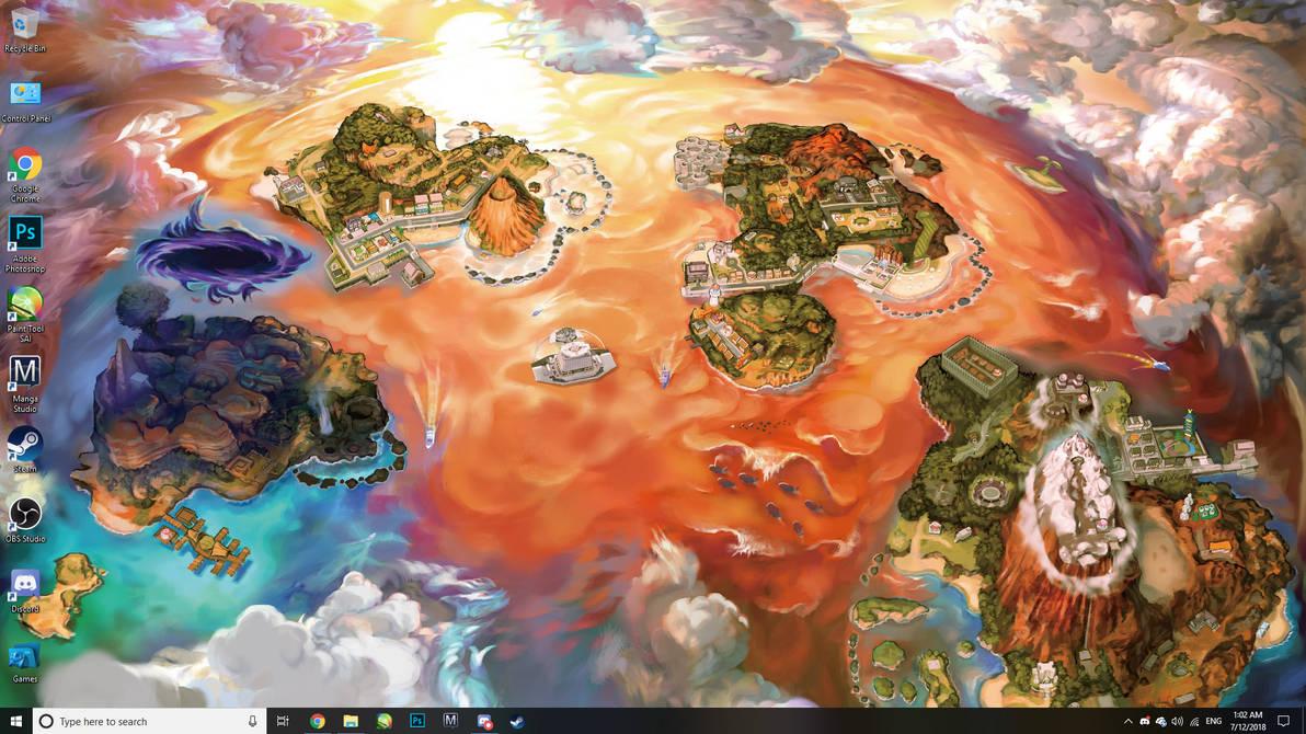 Current Desktop Wallpaper by Mistarooni