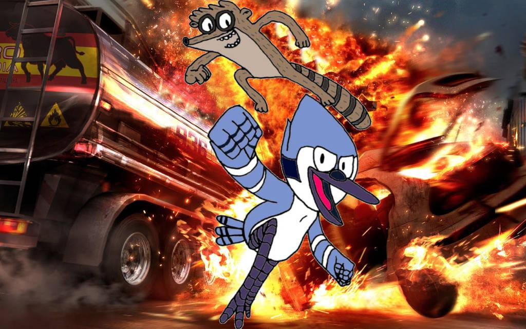 Regular Explosion by sonicblu