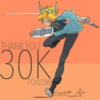 30K Follow! by SteveAhn